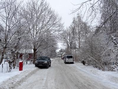 Vinterparkering